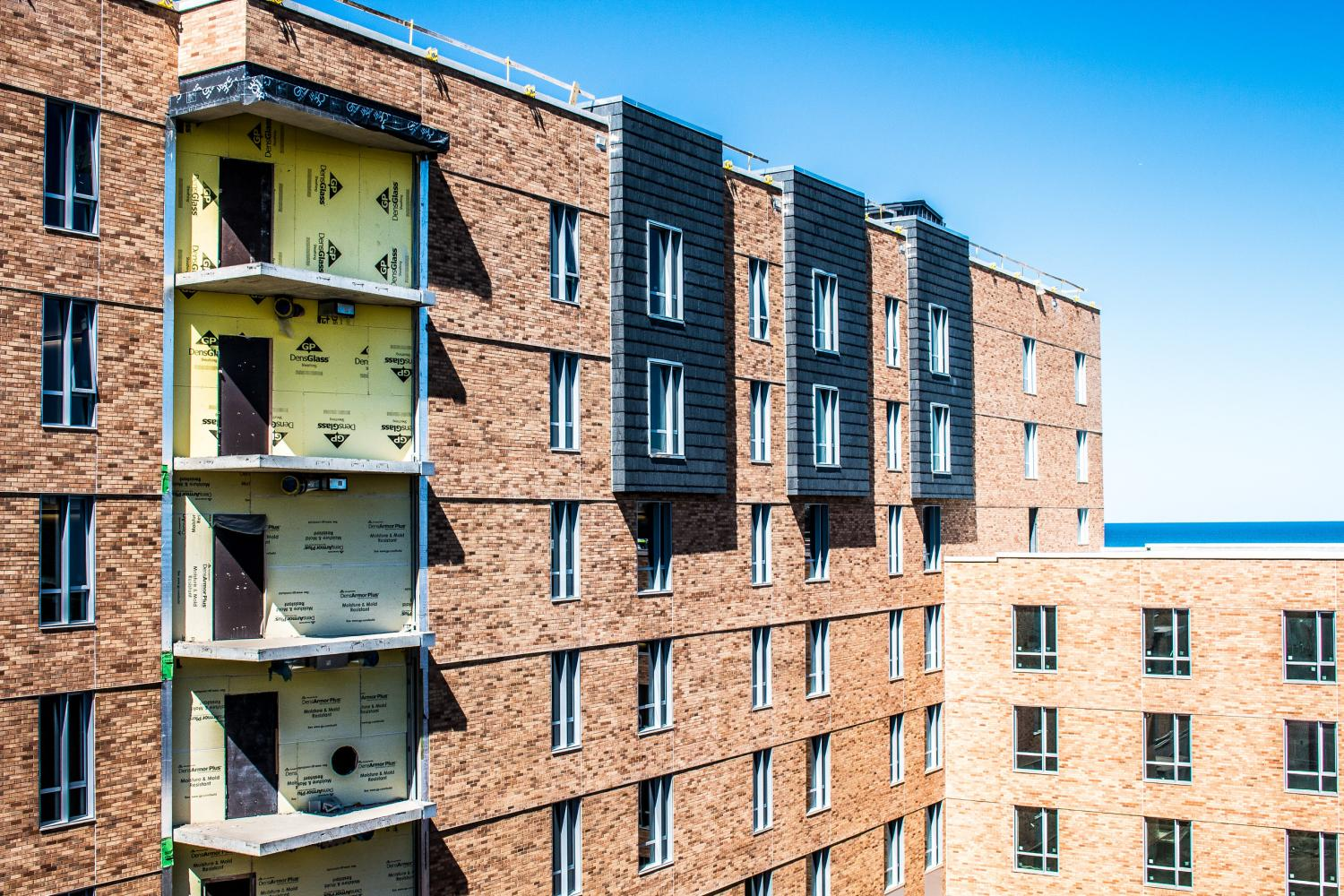 Construction completed on 560 Lincoln, Northwestern's newest residential hall
