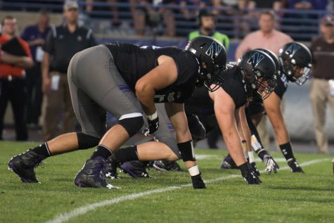 Football: Northwestern's front seven faces tough test against Wisconsin