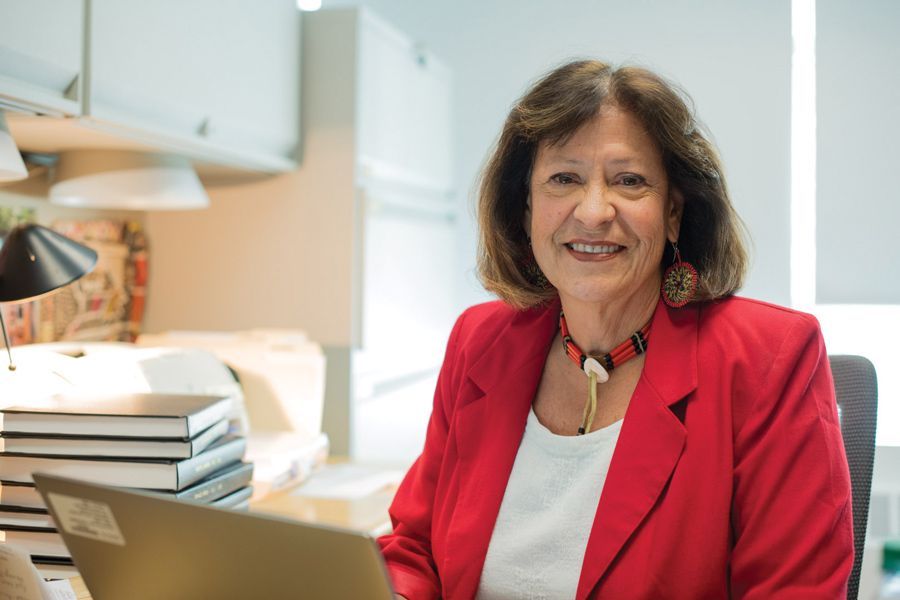 Medill Prof. Patty Loew is the director for the new Center for Native American and Indigenous Research. Loew, along with other faculty and administrators, is working to create a Native American and Indigenous Studies minor, which she said will be available within two to three years.