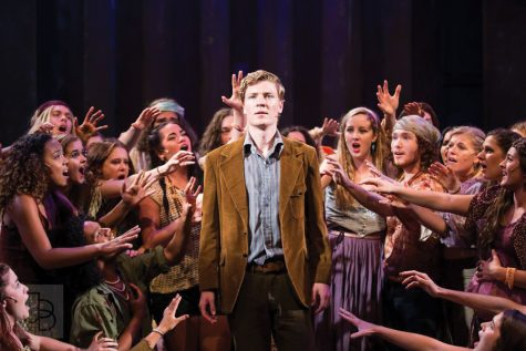 Recent graduate Eric Peters lands first gig in 'Motown' national tour