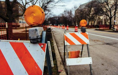 Work on Sheridan Road, Fountain Square progresses substantially following delays