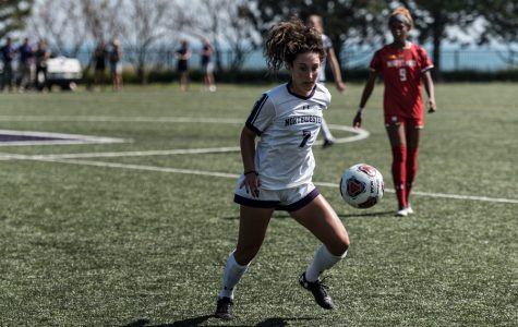 Women's Soccer: Wildcats take first place in Big Ten with comeback over Indiana
