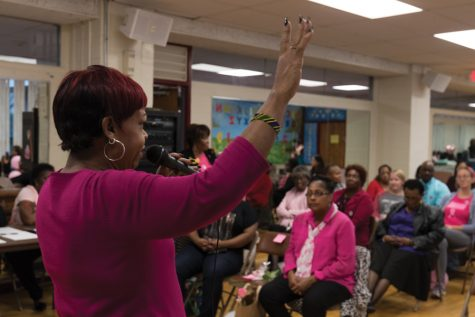 Evanston community members gather to raise awareness of fighting breast cancer
