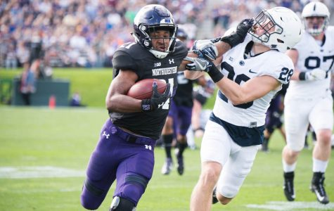 Football: Justin Jackson breaks all-time Northwestern record for career rushing yards