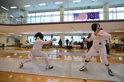 Fencing: Pauline Hamilton leads Northwestern in final preseason tournament