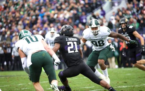 Football: Jackson's versatility provides spark for Northwestern offense in win over Spartans
