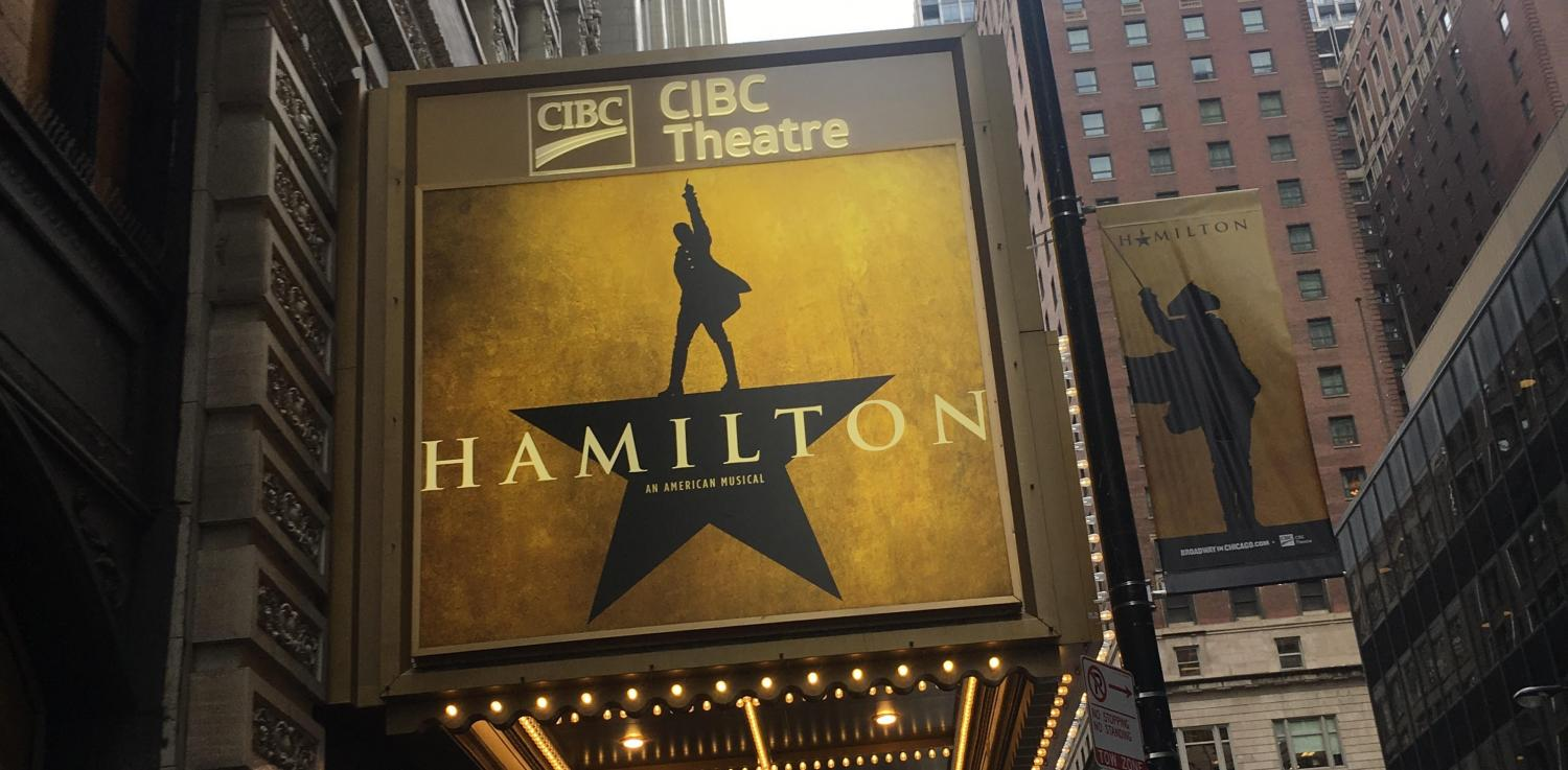 "The University sent the class of 2021 and transfers to see ""Hamilton"" as part of One Book One Northwestern's program. Bienen junior Ben Smelser said the performance was ""something I won't forget."""