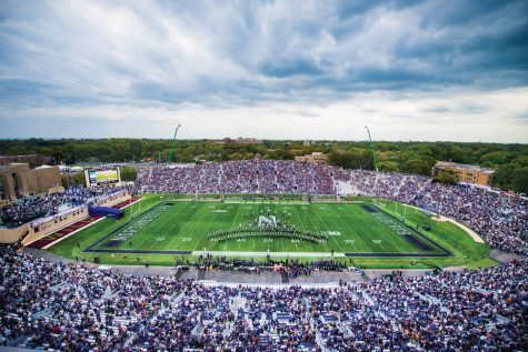 Captured: Wildcats lose to No. 4 Penn State during Homecoming