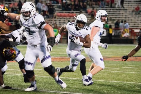 Football: Northwestern shakes off slow conference start with 37-21 win at Maryland