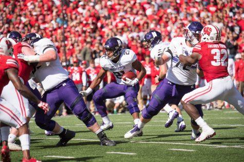 Football: Tough-running, soft-spoken Justin Jackson approaches program rushing record