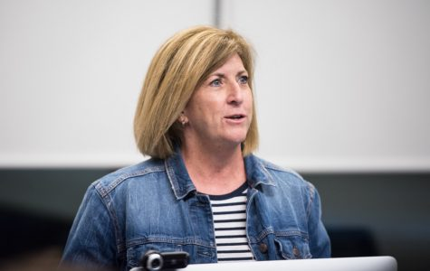 NU professor shares experience as a woman in sports media