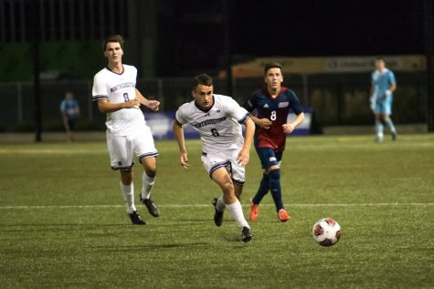 Men's soccer: Wildcats overmatched in tough loss to Maryland