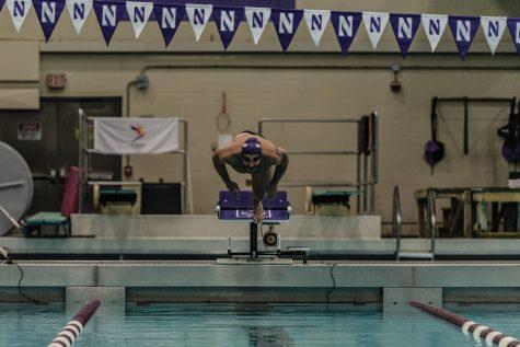 Men's Swimming: Northwestern blown out by Georgia, Georgia Tech