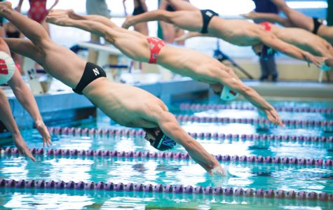 Men's Swimming: Wildcats fall just short in season opener