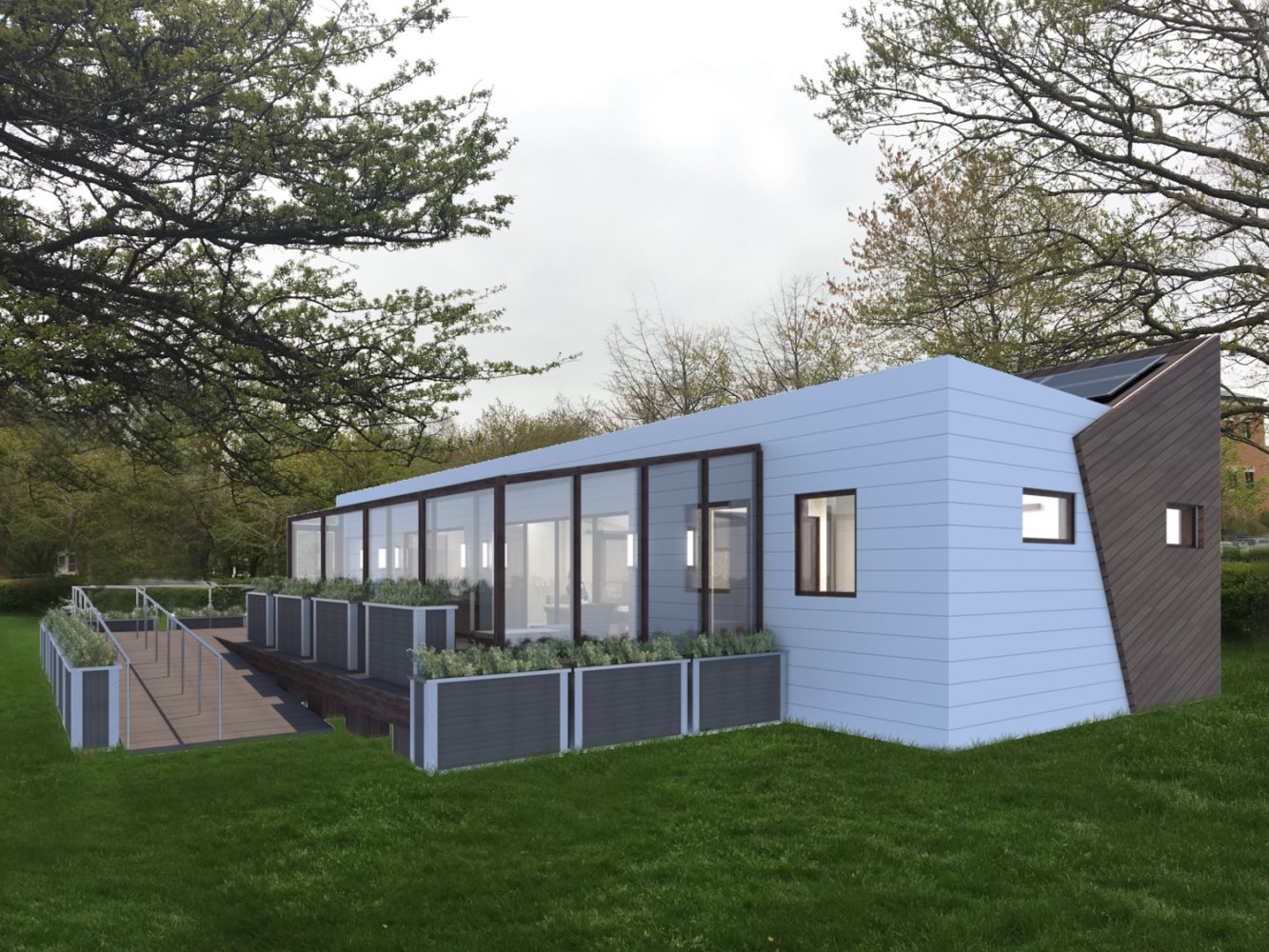 House by Northwestern is NU's first entry to the U.S. Department of Energy Solar Decathlon. The team placed sixth Sunday after two years of preparation.