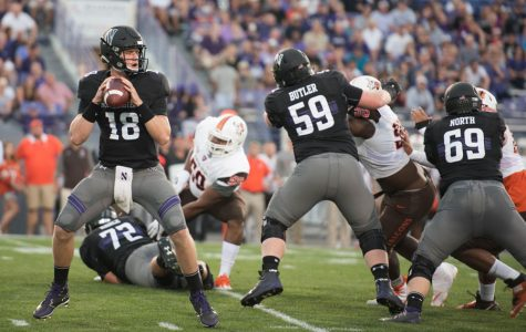Football: Struggling Northwestern offensive line to be challenged by Penn State