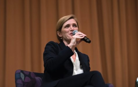 Former UN Ambassador Samantha Power reflects on career in diplomacy, journalism