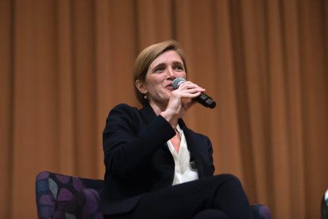 Former UN Ambassador Samantha Power reflects on career in diplomacy, journalism