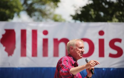 Republican Gov. Bruce Rauner announces re-election bid