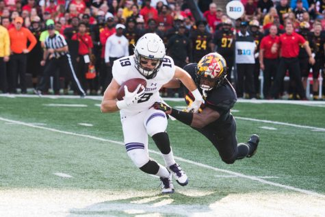 Football: Northwestern's receivers look to build on Maryland performance