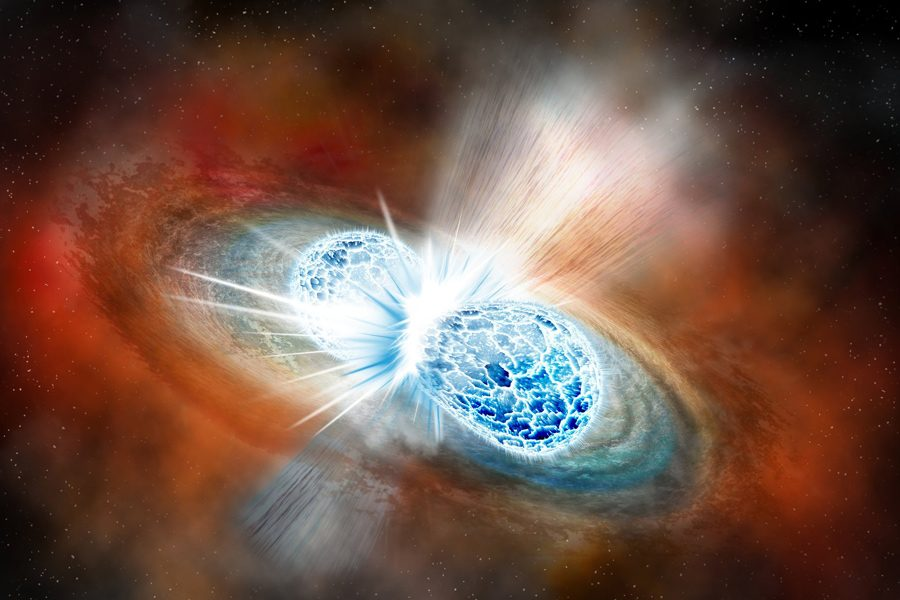 Four NU astronomers among the first to detect neutron star collision