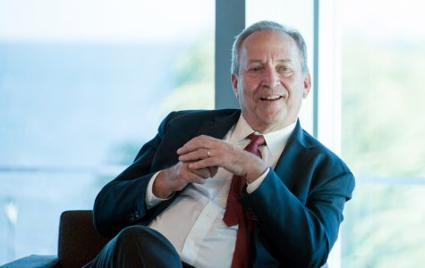 Former Treasury Secretary Lawrence Summers reflects on career in political, academic settings