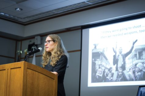 Political science professor discusses Syrian refugee stories at book talk