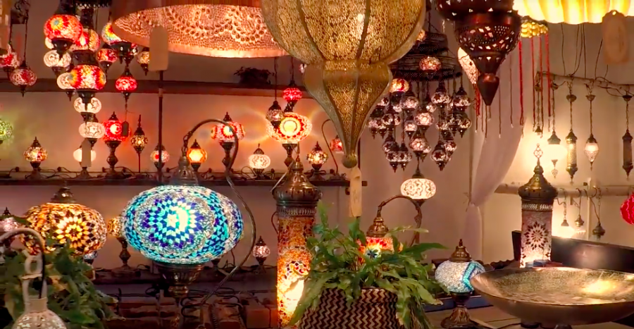 unique light fixtures cool diy light video little light bazaar offers unique lighting fixtures with moroccan asian influences
