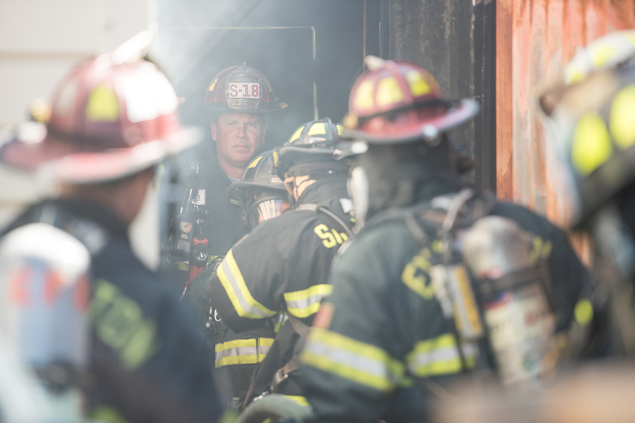 Fire departments host first responder training for local residents, city officials