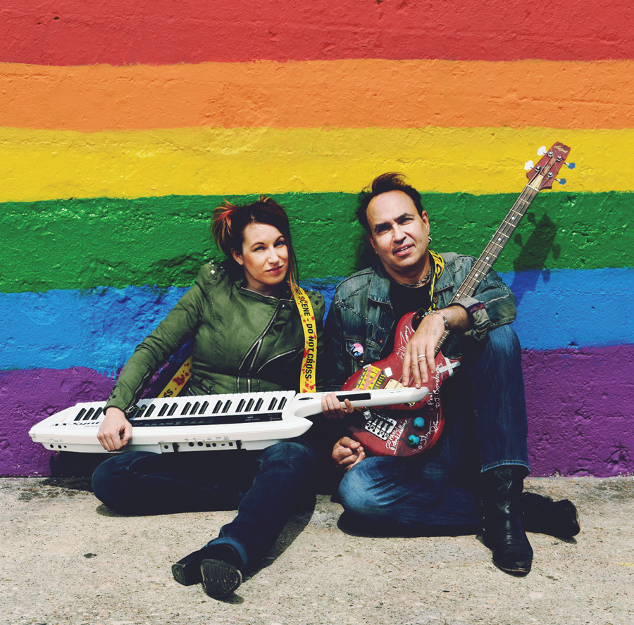 Maya Kuper (Communication '04) and Paul McComas (Communication '84) adapted McComas' novel into an alt-rock musical. The show includes music and lyrics that McComas and Kuper wrote based on the book.