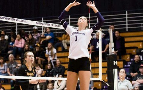 Volleyball: Northwestern splits weekend action, collects first Big Ten win