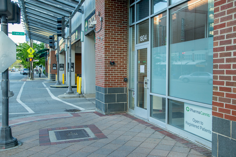 PharmaCannis is Evanston's medical marijuana dispensary located at 1804 Maple Ave. PharmaCannis will have its lease term reduced from three years to one year.