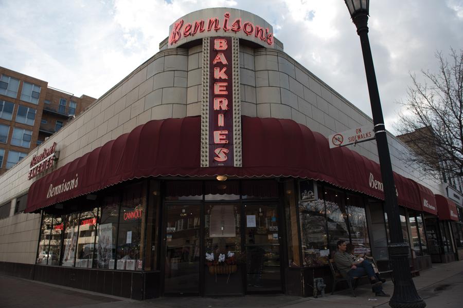 Bennison's Bakery, 1000 Davis St. Hannah Seiler, an ETHS senior, interned at the bakery over the summer through the Evanston Work Ethic program.