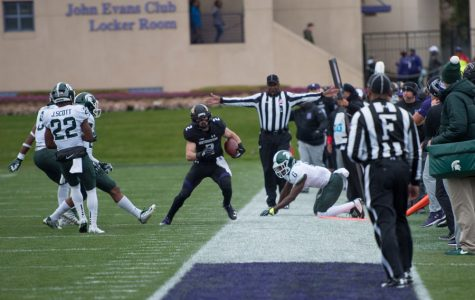 Football: Northwestern makes huge plays in third overtime to upset No. 16 Michigan State