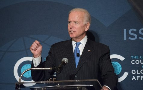 Biden calls for greater U.S. involvement in world affairs at Chicago event