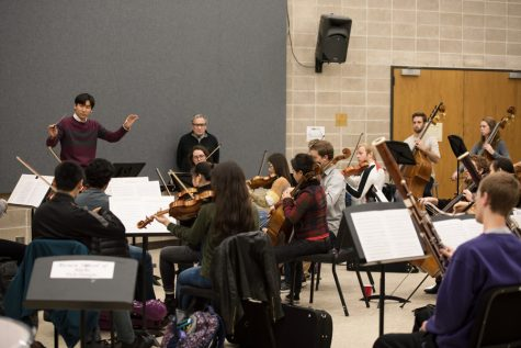 Student-conducted orchestra to perform Mozart, Vivaldi in Alice Millar Chapel