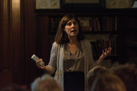 Feminist writer emphasizes role of wealthy women in suffrage movement