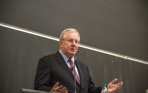 Steve Forbes talks health care, taxes at College Republicans event