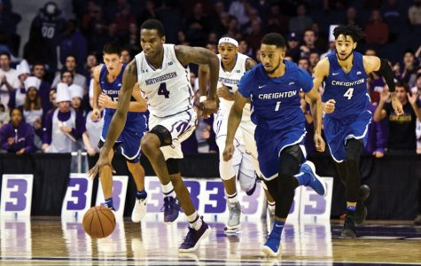 Men's Basketball: Creighton edges Northwestern despite Law's career day