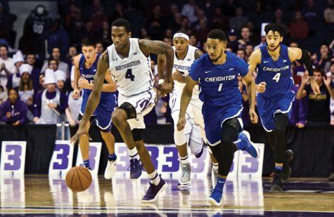 Men's Basketball: Creighton edges Northwestern despite Law's career day