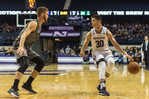 Men's Basketball: Northwestern falls to Georgia Tech on buzzer-beater
