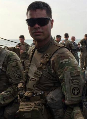 U.S. Army Sgt. Aron Wagner deployed in Iraq. Last weekend, Mayor Steve Hagerty declared Oct. 29 as Sgt. Aron Wagner Day.
