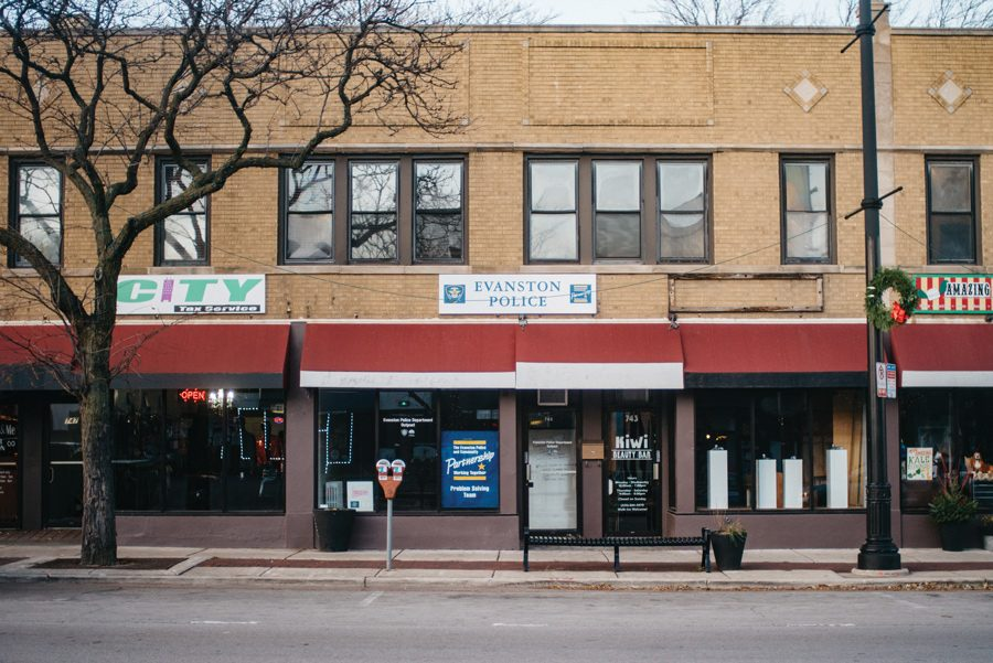 The Evanston Police Department outpost at 745 Howard St. City manager Wally Bobkiewicz said the city considered its budget constraints and weighed the utility of the outpost before deciding to vacate it.