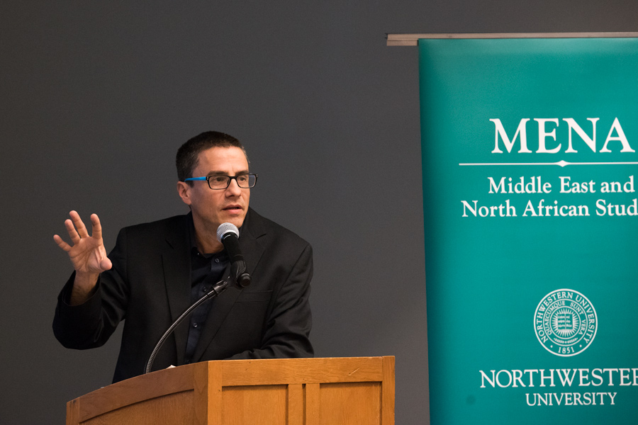 Israeli professor Neve Gordon discussed the Israeli-Palestinian conflict at a Monday event. He said his one-state solution considered the human rights of Palestinians and Israelis.