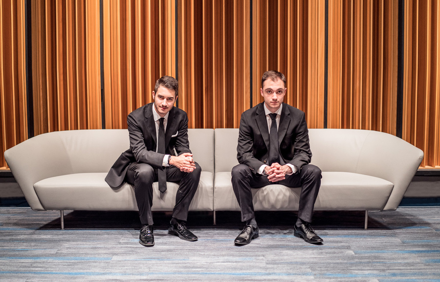 Bienen juniors Sam Wolsk and Louis Danowsky will perform at Evanston SPACE on Nov. 9 with the D.W. Jazz Orchestra. The orchestra will also feature other NU music students, as well as professionals from the local jazz scene.