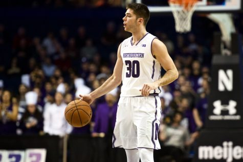 Men's Basketball: Northwestern heads to Connecticut for Hall of Fame Tip-Off