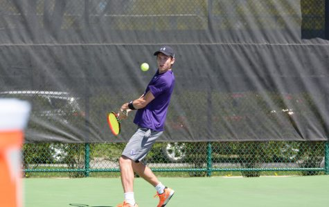 Men's Tennis: Northwestern incorporates freshman class during fall season
