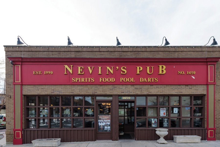 The outside of Tommy Nevin's Pub, 1454 Sherman Ave. Nevin's is set to close in late November or early December, owner Rohit Sahajpal told The Daily.