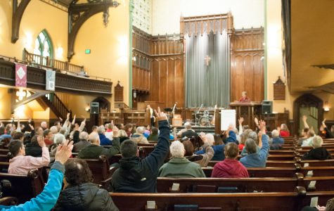Interfaith rally calls for solidarity 1 year after presidential election
