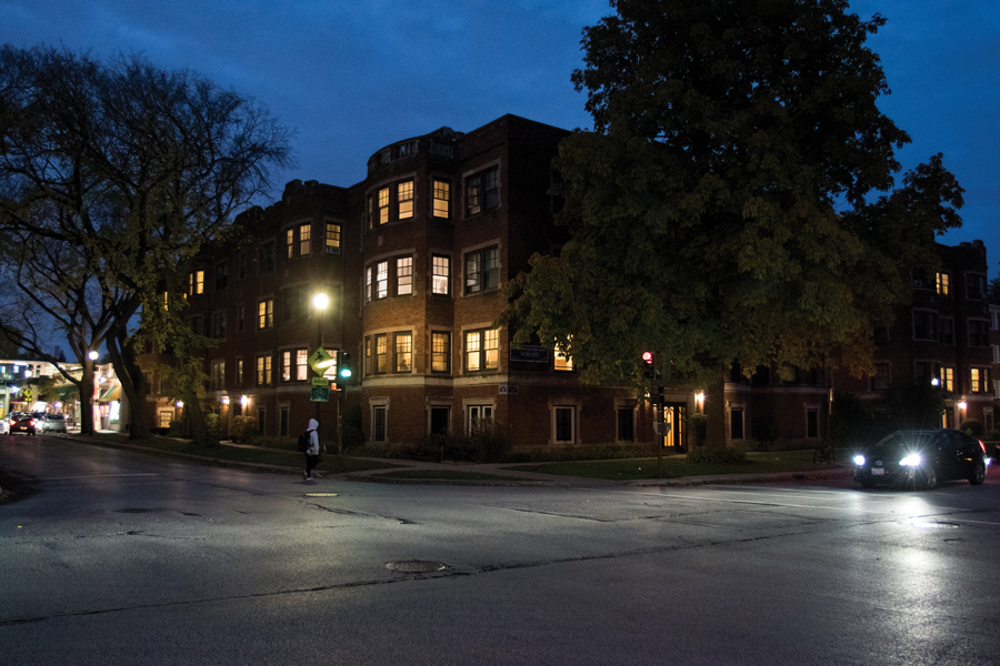 The 2200 block of Sherman Avenue. Evanston police responded to a Northwestern graduate student's report of battery and attempted burglary in his apartment Monday afternoon.